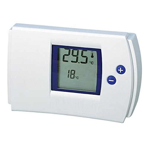 Electraline 59212 Termostato Digitale, Bianco