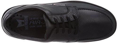 Mephisto Janeiro Natural 7200 Black, Chaussures Bateau Homme Noir (Black)