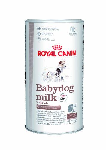 Kit Royal Hundemilch, 400g, für Welpen und Saugflasche mit 3 Aufsätzen verschiedener Größe