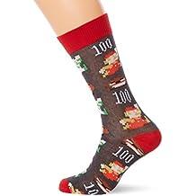 Oficial Nintendo Super Mario Pixel Art novedad tripulación calcetines: S/M (UE tamaño