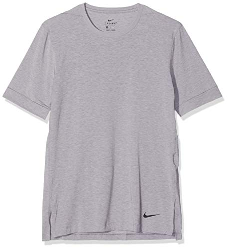 Nike Herren Dri-Fit T-Shirt, Gunsmoke/Atmosphere Grey/Black, M