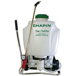 Chapin Pulvérisateur à dos pour arbres et gazon Cuivre 15 l