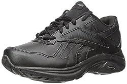 Reebok Womens Ultra V Dmx Max Walking Shoe, Black/Flat Grey, 6 M US