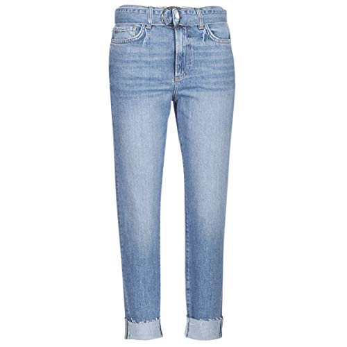 Guess The IT Girl Skinny Belt Hosen Damen Blau - US 30-3/4 Hosen & 7/8 Hosen -