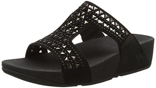 Fitflop Carmel Slide - Sandali donna Nero (Black (All Black))