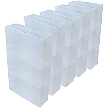 iris 3er set schuhboxen aufbewahrungsboxen f r schuhe 39 drop front box 39 eudf m kunststoff. Black Bedroom Furniture Sets. Home Design Ideas
