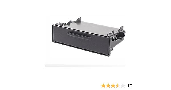 Carav 11 155 Ablagefach Für Autoradio Radioblende Dvd Dash Installation Kit Universal Mit Deckel Faszie Mit 180 50 98 Mm Auto