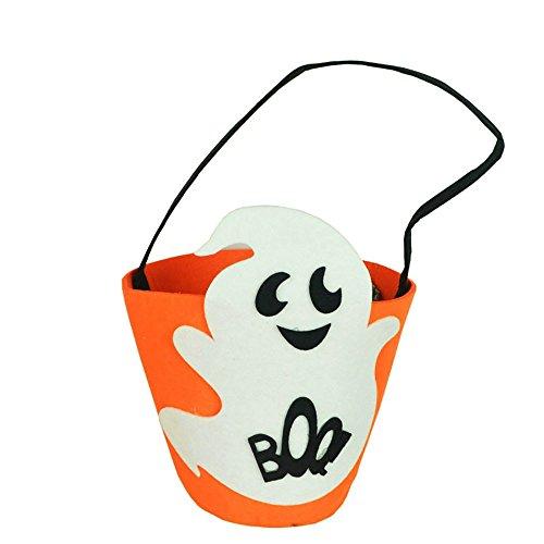 VEMOW Heißer Nette Süße Baby Mädchen Jungen Kürbis Lagerung Halloween Party Zubehör Tasche Einzigen Handtaschen Taschen(Tasche, A)