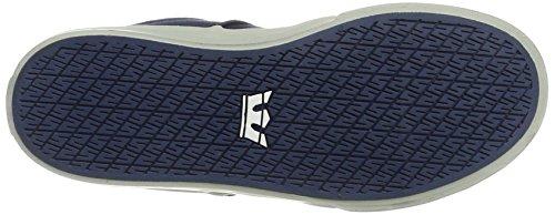 Supra Unisex-Kinder Stacks Vulc Ii Sneaker Blau (Blue-LT Grey)