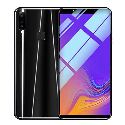 SO-buts A9 Android Smartphone, 6.1 Zoll Achtkern Handy mit Vier Kameras, Dual-Karte Dual-Standby-Handy, maximale Speicher 64G, Dual HDCamera WiFi Bluetooth, (Schwarz)