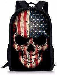 d2f9112473ef HUGSIDEA Under Animal Printed Children School Bag Blue Kids Backpack