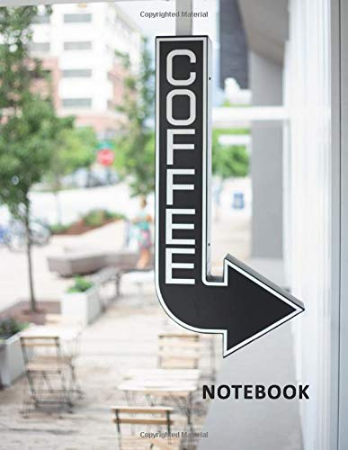 College Ruled Notebook: Baristo Petite Student Composition Book Daily Journal Diary Notepad for researching how to open a coffee shop and bakery Rose Coffee Grinder