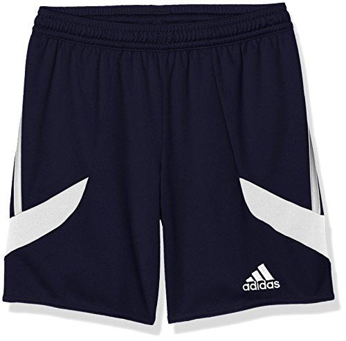 adidas Erwachsene Shorts Nova 14 y, dunkel blau/Weiß, 128, F50675 (3-streifen-rugby-shorts)