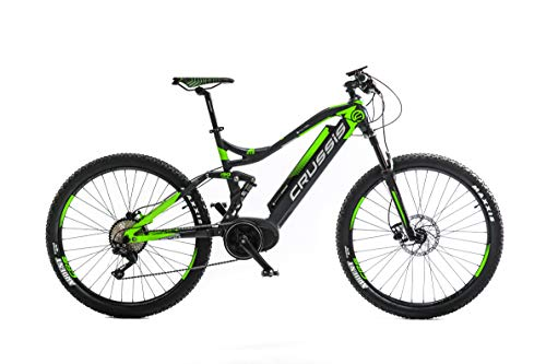 "Crussis E-Bike e-Full 7.4-S Suspension 27,5"" Rahmen 19\"" 36V 17,5Ah 630Wh Li-Ion Akku Fully Mountainbike"