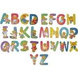 Holzbuchstabe L, Bär-Design, von Bieco