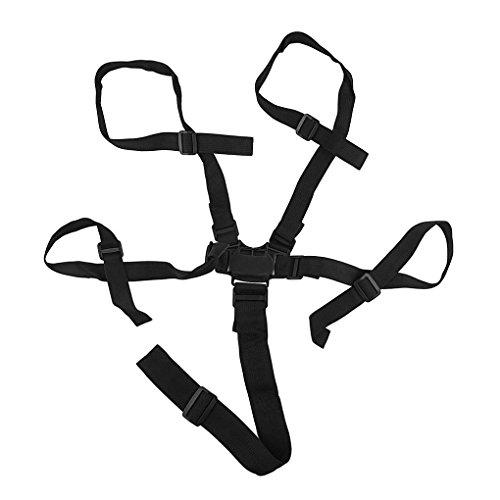 Mengonee Universales 5 Cinturones de Seguridad Punto de arn/és de seguridad del beb/é de los ni/ños del asiento del cochecito protecci/ón segura Trona Cochecito Cintur/ón