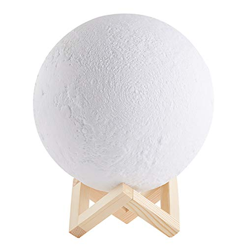 YLSMN Moon Light 3D Print Night Light Produit Créatif Light Moon Lampe de table Night Light Photo Cadeau Personnalisé veilleuse nuage