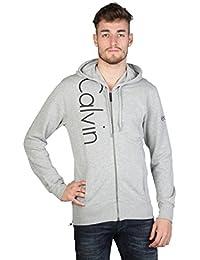 Calvin Klein - Gilet à capuche noir homme CMQ224