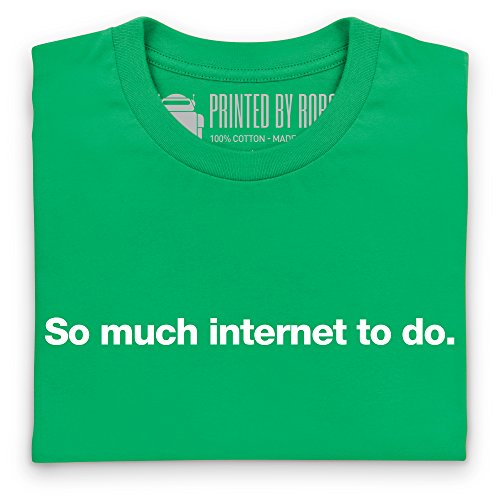 So Much Internet To Do T-Shirt, Herren Keltisch-Grn