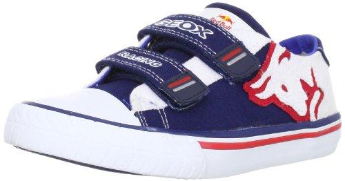 Geox Kids 'J Pit Lane r.b.e Fashion Trainer, Mehrfarbig - Blau / Weiß - Größe: 36 EU