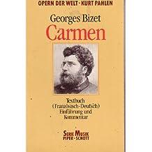 Carmen. Textbuch ( Französisch- Deutsch). (Opern der Welt).