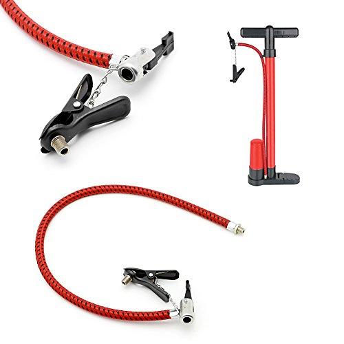 gszfsm001 Fahrrad Reifen Reifen Hand Luftpumpe Pumpe Ersatz Schlauch Schlauch Gummi Werkzeug -
