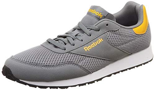 Reebok Royal Dimension, Scarpe da Trail Running Uomo, Multicolore (True Grey/Trek Gold/White 000), 42 EU