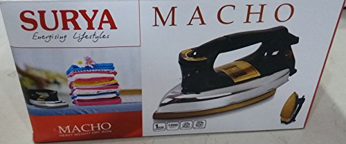 surya-MACHO Heavy weight dry iron-1000watt
