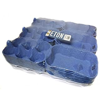 Eton Egg Boxes, 24 x 1/2 dozen, Shrink Wrapped (Blue)