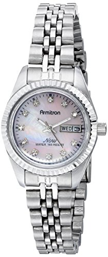 armitron-femmes-752475pmsv-maintenant-swarovski-crystal-accentues-silver-tone-regardez-robe-rose-mer