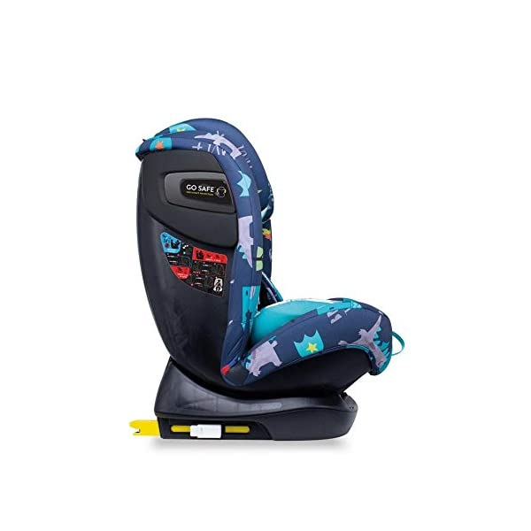 Cosatto CT4262 All in All + Group 0+123 Car Seat Dragon Kingdom (5PP 8.9 kg Cosatto Extended rear facing Suitable for all stages Extra security 6