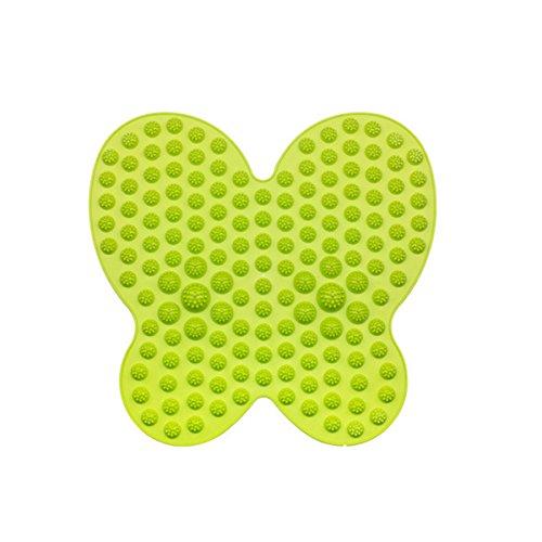 Fußmassagegerät Reflexzonenmassage-Matte Stressbehandlung, grün