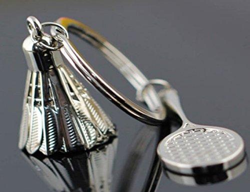 Sportigo ® Badminton Schlüsselanhänger/Federball/Geschenk