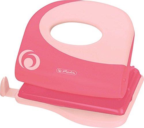 Herlitz 50015818 Bürolocher 2.0 mm Ergonomie, indonesia pink
