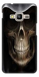 MANNMOHH Designer Hard Back Cover for Samsung Galaxy Z2