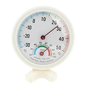 Generic Temperatur und Feuchtigkeit Messgeraet Thermometer Hygrometer Analoges fuer Innen Thermo-Hygrometer