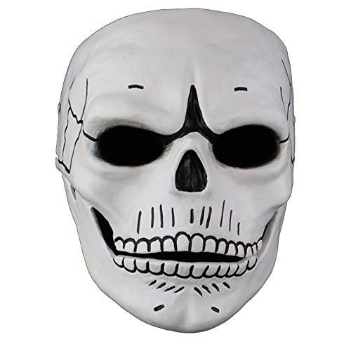 BHXUD Ghost Party Maske Horror Skull Halloweenmaske Party Maske