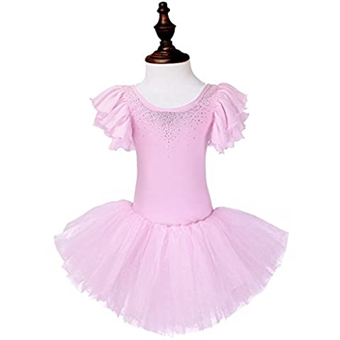 Costumes De Danse Rhinestone Designs - ourlove Fashion strass fille ballet tutu Parti