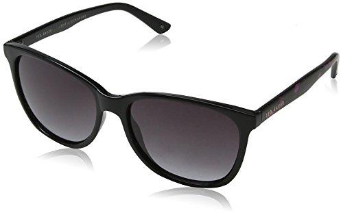 Ted Baker Damen Alva Sonnenbrille, Schwarz (Black), 57