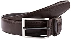 Pacific Gold Faux Leather Brown Mens Fashionable Belt At Best Price (40)