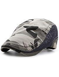 Impression 1 PCS Boinas Ocio Retro Hat Gorra de Golf Sombrero de Sol Deporte al Aire Libre Primavera Verano para Unisex Hombre Mujer
