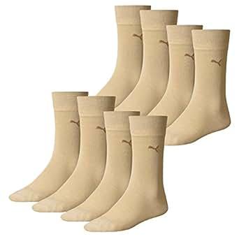 PUMA Herren Classic Casual Business Socken, 4 Paar (39-42, safari)