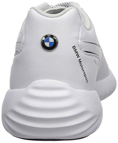 Puma Men s BMW MS Speed Cat Synth Sneaker  White White-Team Blue  13 UK