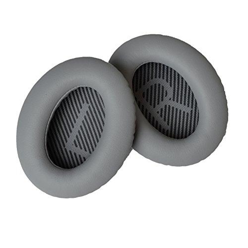 Accessory House Ersatz-Ohrpolster für Bose QuietComfort 35 (QC35) Kopfhörer (Grau)