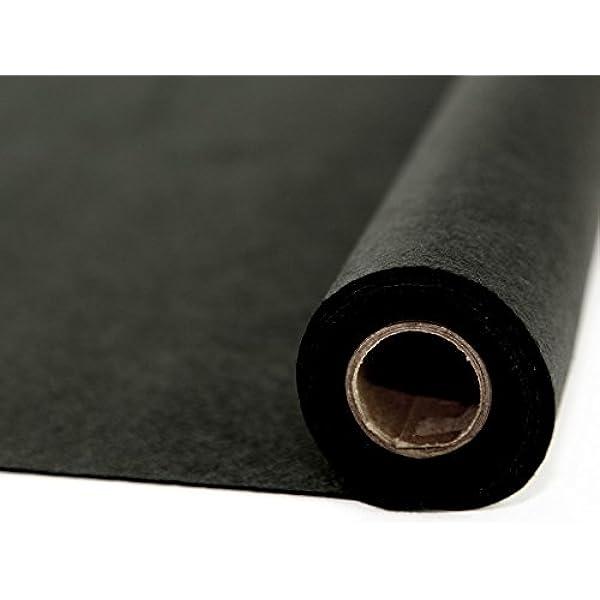 2 metres Halloween black showerproof fabric keep em dry