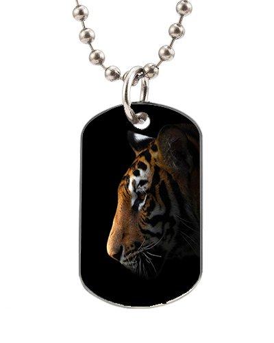 chien-tags-pour-animaux-de-compagnie-tigre-symboles-avec-collier-chaine