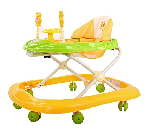 Baybee Smartwitty Stylish Baby Walker (Yellow)
