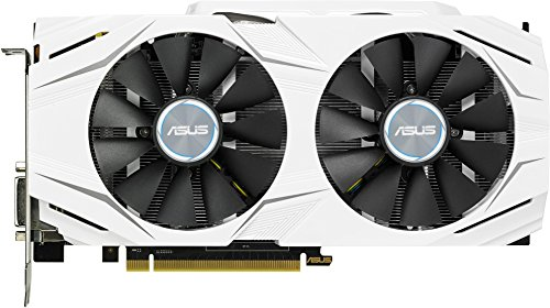 ASUS NVIDIA GeForce DUAL-GTX1060-6G 6 GB GDDR5 Memory 192 Bit 8008 MHz PCI Express 3 Graphics Card - Black