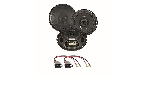 Crunch Dsx62 16 5 Cm 2 Wege Lautsprecher Einbauset Für Elektronik