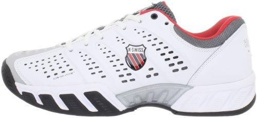 Herren Tennisschuh Outdoor Big Shot Light weiß/schwarz/rot